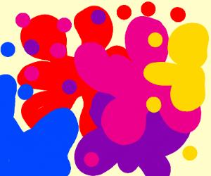 artist splash (?)