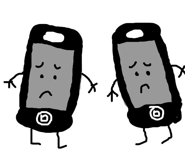 sad iphones