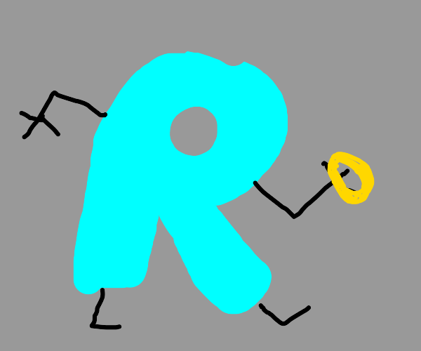 drawception R makes off with the ring