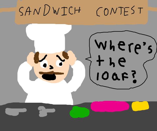 Chef needs bread