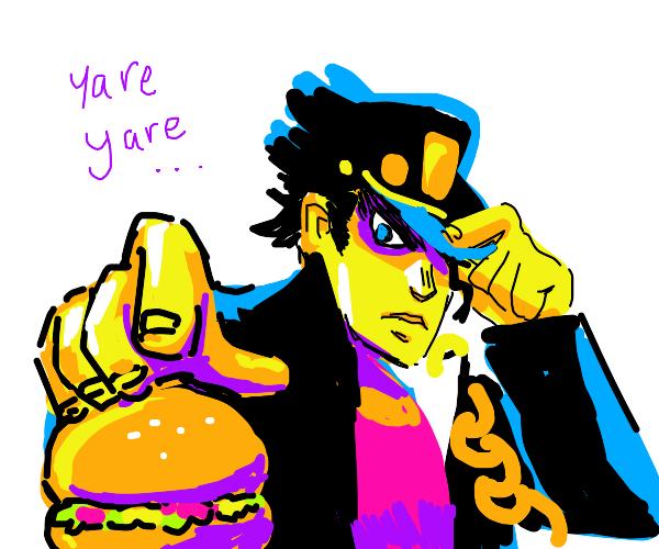 yare yare daze gimme a burger