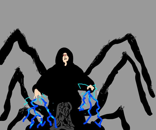 emperor Palpatine becomes spider