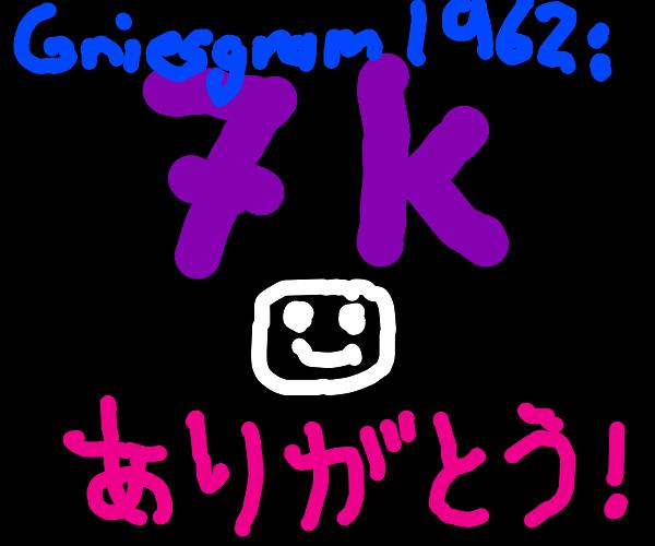 Griesgram1962 says THANX for 7000 emotes ;)