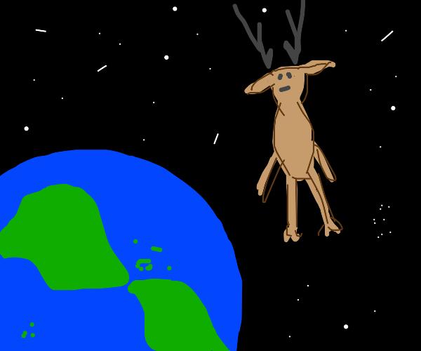 oh deer... lost in space