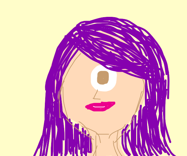 purple-haired cyclops (not leela)
