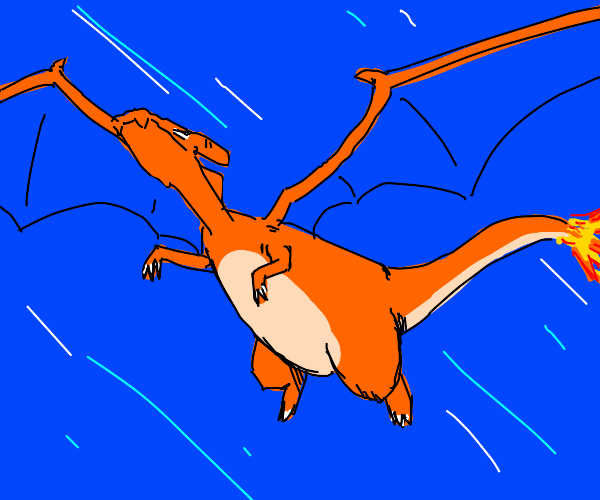 Charizard flying