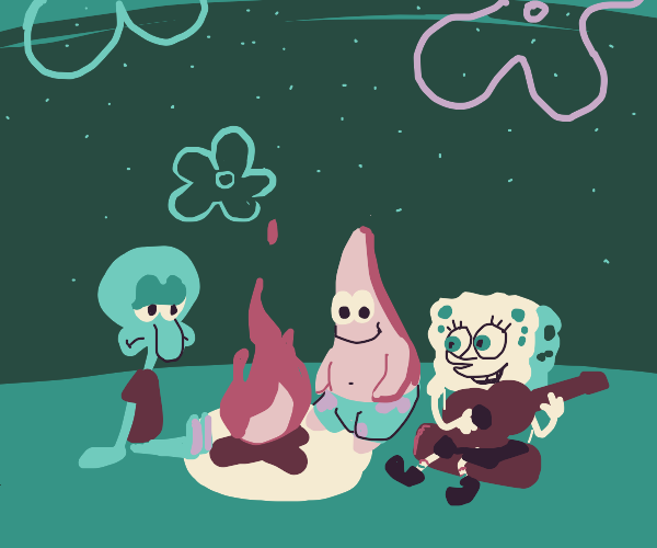 Camping under the sea