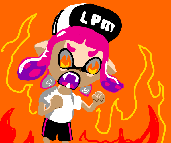 """""""inkling girl needs more than a snickers.."""""""