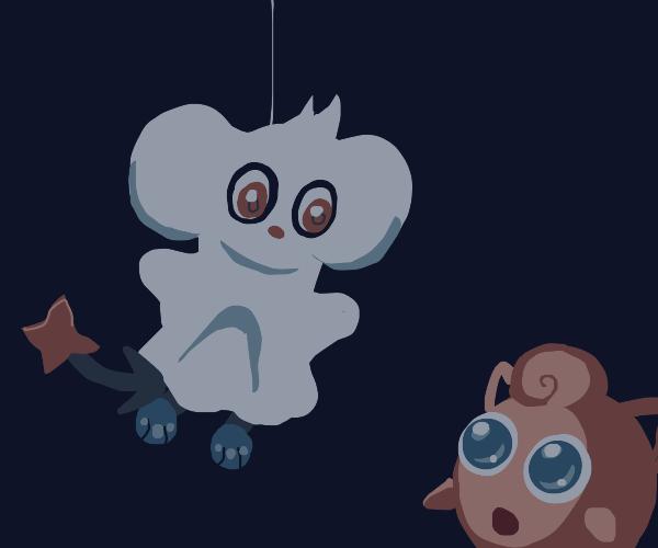 Shinx Pokémon tries to use intimidate