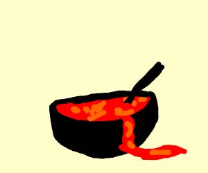 mmm volcano soup