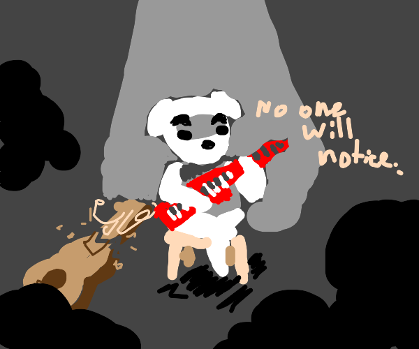 KKs guitar is broken