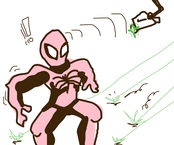 My Spidey-sense has alerted me to laser trap