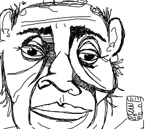 Old man needs his freakin' meds, dood.