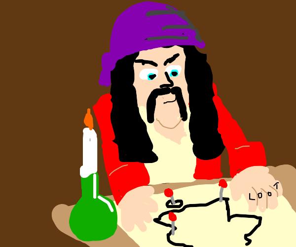 Pirate planning raids on British Isles
