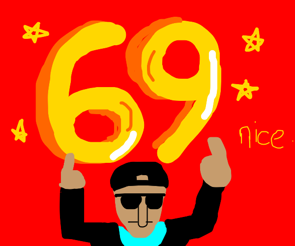 the number 69