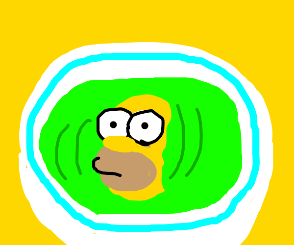 Homer in My Soup