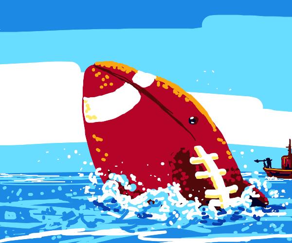 football whale
