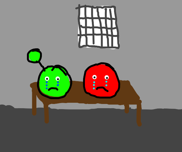 Slimes in Jail, Crying ;-;