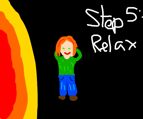 Step 4: orbit the sun for all of eternity