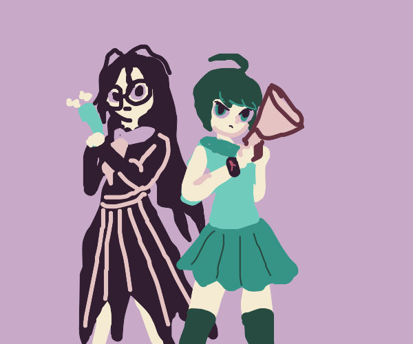 Toko and Komaru