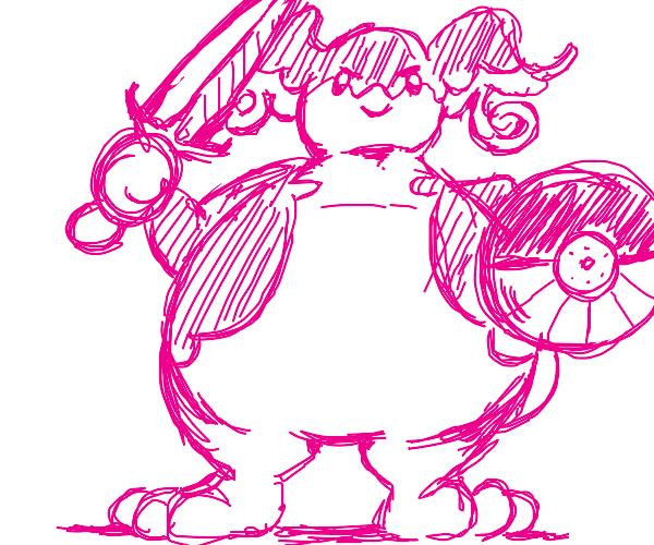 Big Audino Warrior