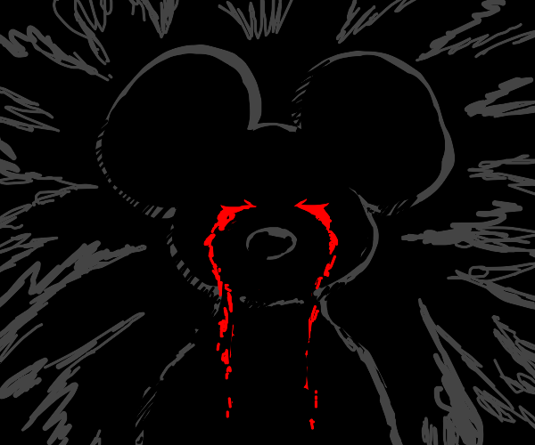 disturbed mouse cries blood