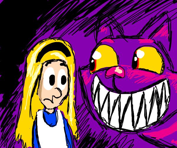 alice and wonderland cat