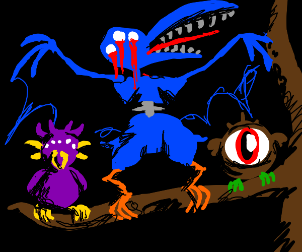 Nightmare birds
