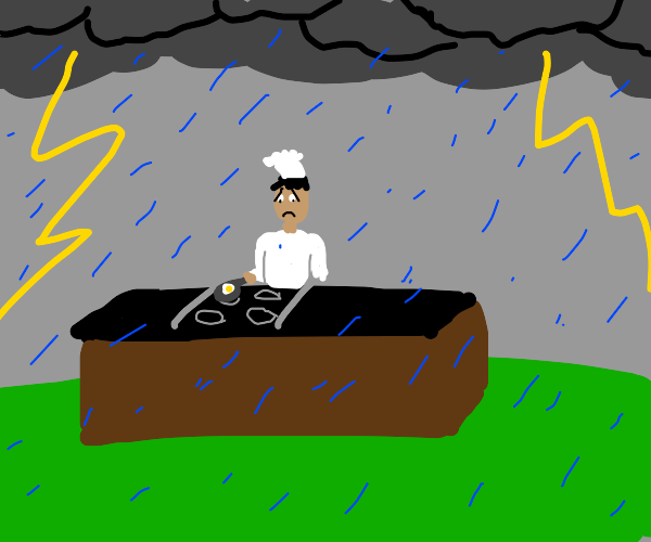 Cook in a Storm