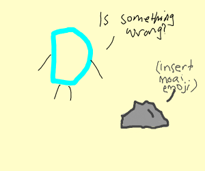 Drawception D asks if something is wrong