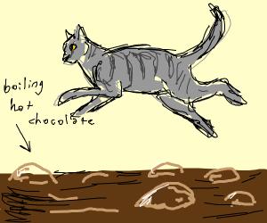Skunk crossing the Road - Drawception