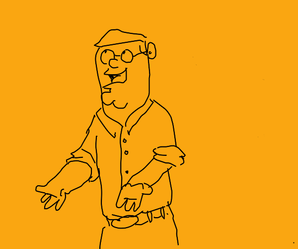 Thin Peter from Family Guy