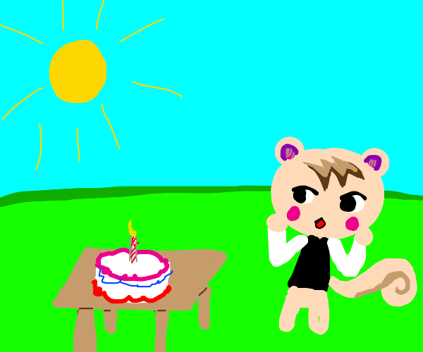 Marshal's birthday (animal crossing)