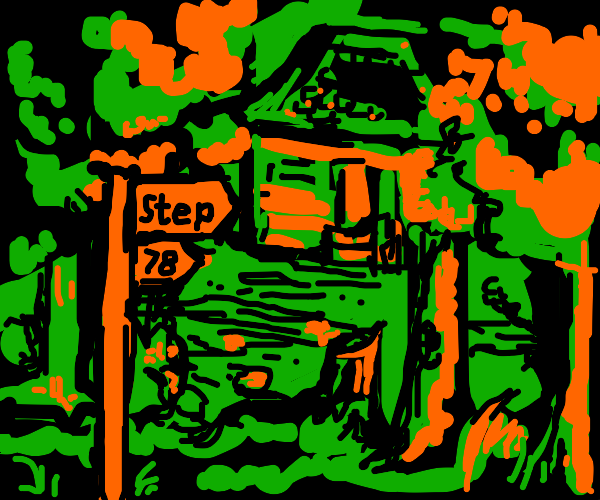 Step 77: Get lost in the woods