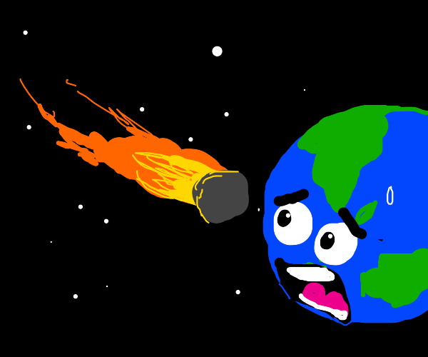 Asteroid is about to hit Earth???!!!!!?!?!?!