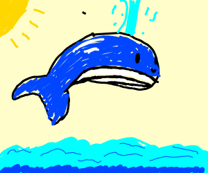Whale saying part of high noon meme