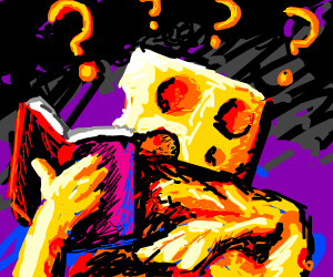 Cheese Man Cannot Read