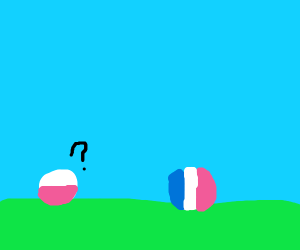 polandball can not understand franceball