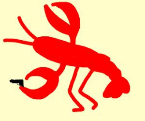 Frightening Lobster