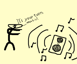 turn of the music