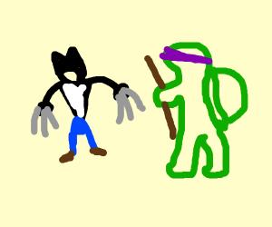 Wolverine vs Leonardo(TMNT)