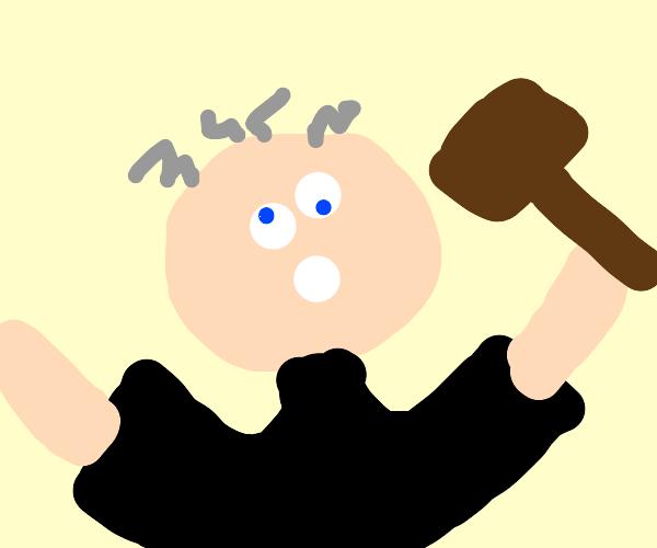 Judge is insane