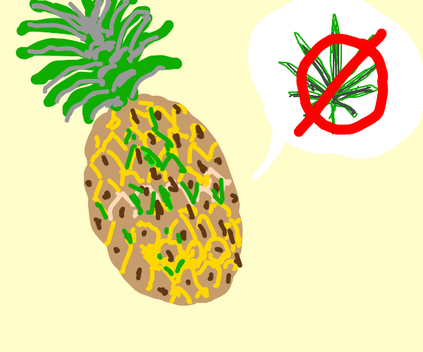 Pineapple that doesn't do drugs