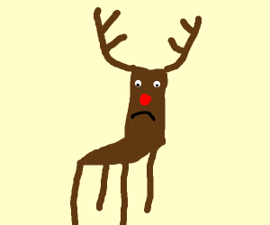 Rudolf turned into a chair!