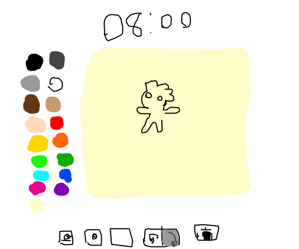 Drawing in drawception