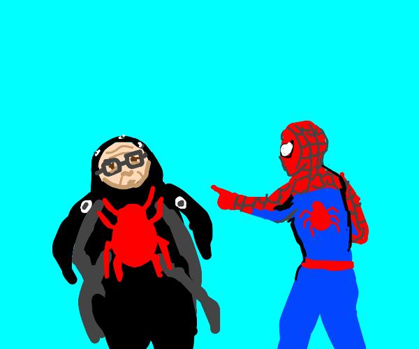 Spider-man vs Man-spider
