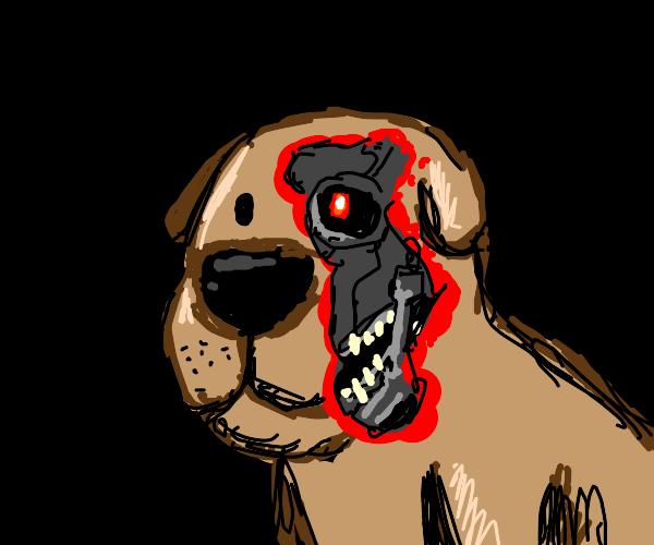 A K900 terminator dog.