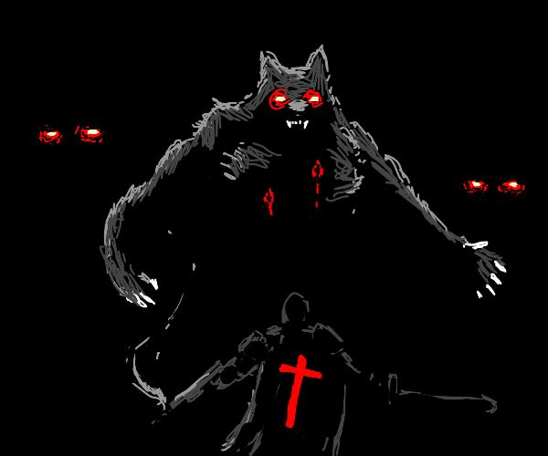 Defeat the werewolf!