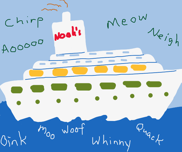 Noah's Luxury Cruise Ship