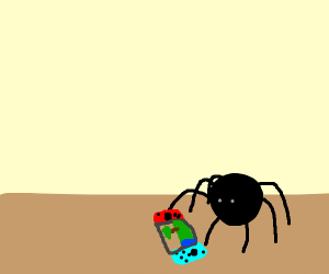 Spider plays Switch